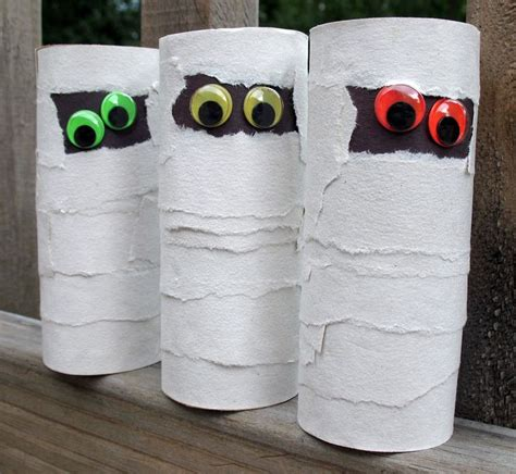 Mummy Toilet Paper Roll Craft - best 25 cardboard crafts ideas on