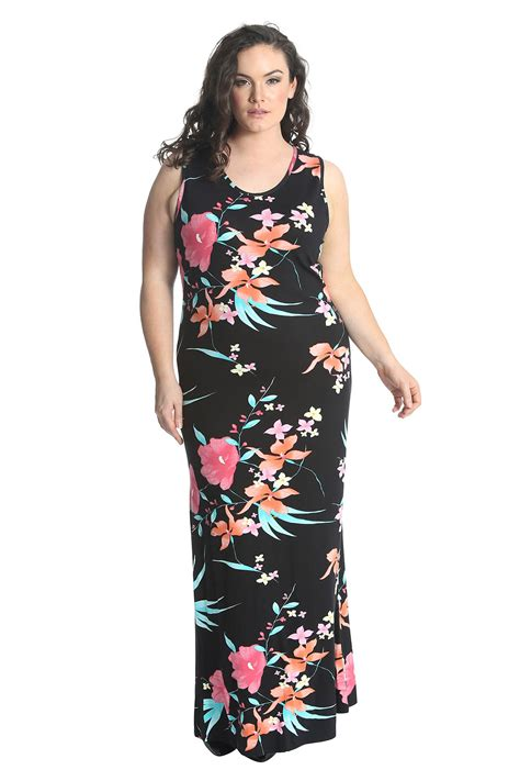 Maxi Size Menyusui Bhm 67 new womens maxi dress plus size floral print ankle length nouvelle ebay