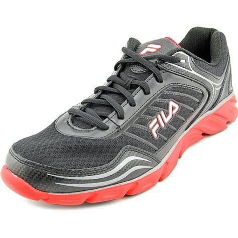 black athletic shoes fila fila memory fresh 2 black running shoe athletic