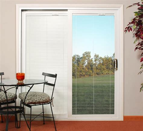 Slider Blinds Patio Doors Sliding Patio Doors With Built In Blinds 3 Spotlats