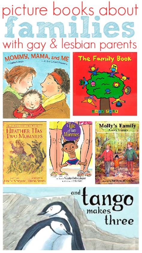 picture books about families and books