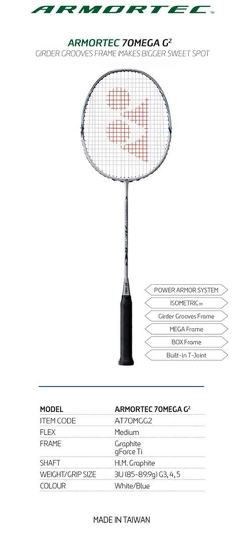 Raket Yonex Beserta Gambarnya badminton world spesifikasi raket badminton