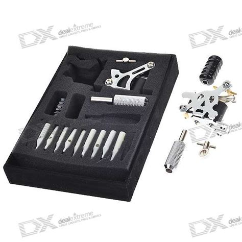 tattoo kit online shopping in india 4 gun tattoo hine complete kit set carrying case