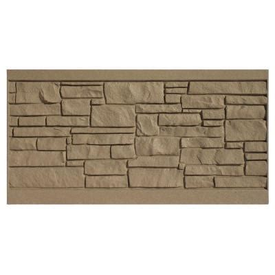 simtek 3 ft h x 6 ft w ecostone brown composite fence