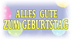 Happy Birthday In German » Home Design 2017