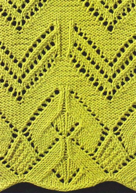 edge stitch knitting knitted lace with pretty edge knitting bee