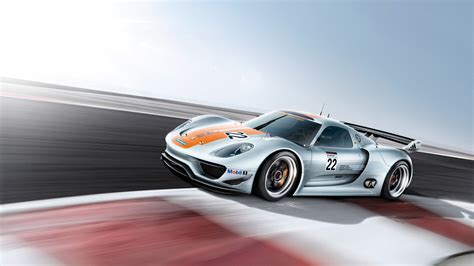 Porsche 918 Rsr Speed Wallpapers Hd Wallpapers Id 10855
