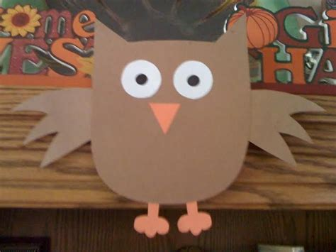easy owl crafts for 26 best thanksgiving crafts for images on