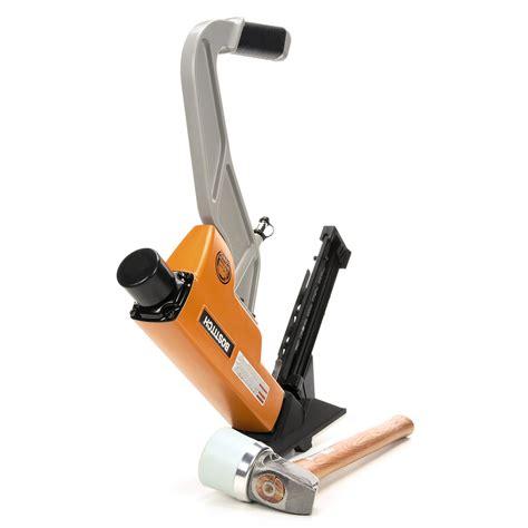 bostitch btfp12569 2 in 1 pneumatic flooring tool air