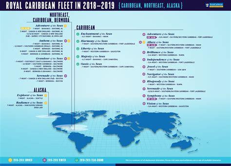 aruba cruises in january 2019 royal caribbean announces 2018 2019 caribbean alaska and
