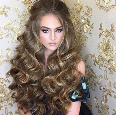 stylish hairstyles in open hair hair stayels fashionhugs com