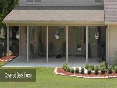 outdoor exciting back porch ideas for home design ideas with back porch decorating ideas