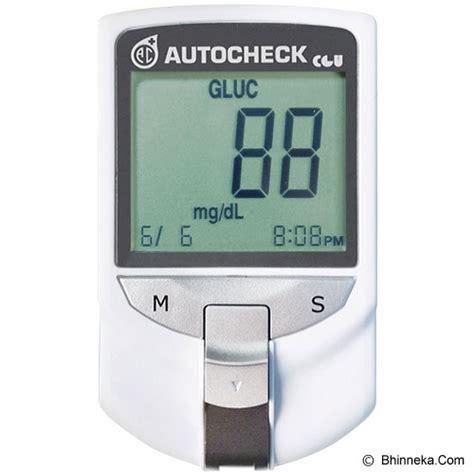 Autocheck 3in1 Gcu Multi Monitoring Sytem jual alat ukur kadar gula autocheck 3 in 1 monitoring