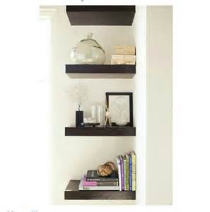floating corner shelves cristal