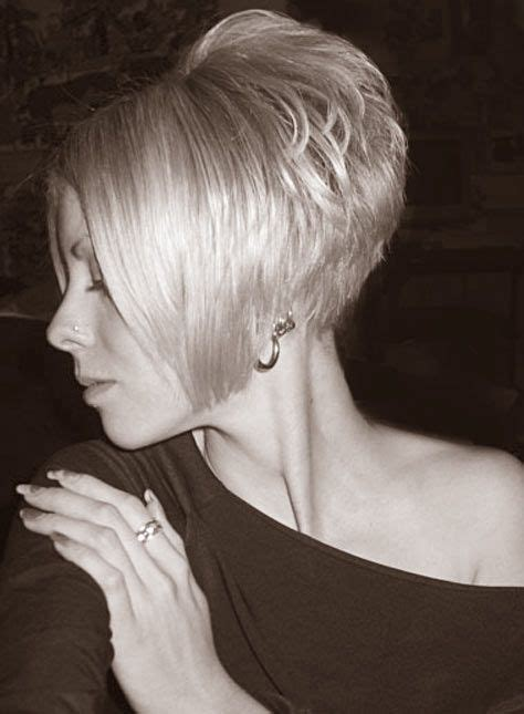 wedge haircut with stacked back pinterest the world s catalog of ideas