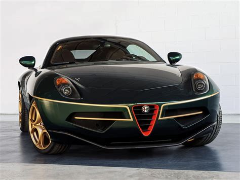 disco volante geneva preview alfa romeo disco volante in green