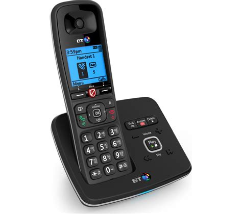 Bt Find Bt 6610 Cordless Phone With Answering Machine House Telephones