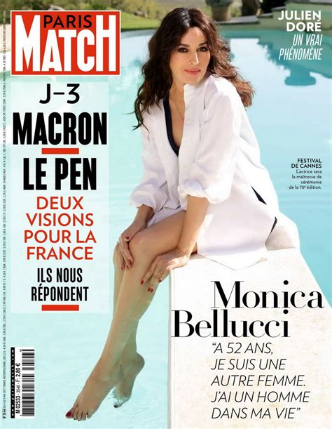 magazine may 2017 monica bellucci in paris match magazine may 2017 hawtcelebs
