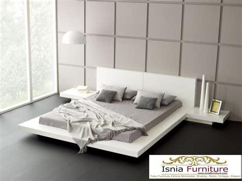 Tempat Tidur Minimalis Putih tempat tidur minimalis putih duco kayu jual tempat tidur
