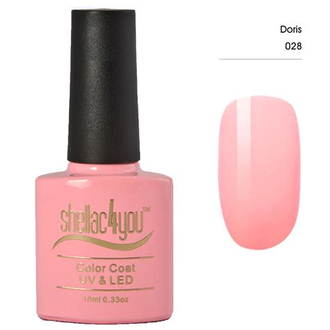 nagellack uv le shellac4you uv led nagellack doris ihr nr 1