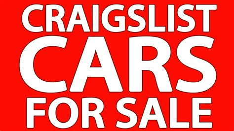 Craigslist For Sale by Craigslist Cars For Sale By Owner