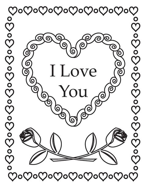 valentines day coloring pages free printable free printable s day coloring pages