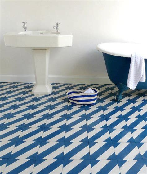 blue tile bathroom floor 36 blue and white bathroom tile ideas and pictures