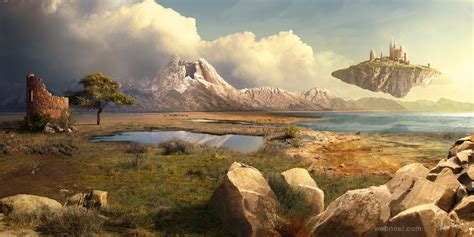 matte painting in forest digital matte painting 16