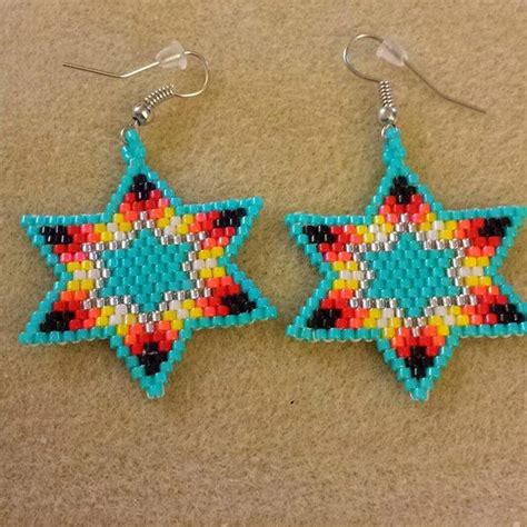 Beaded Earrings 17 best images about beading patterns on loom