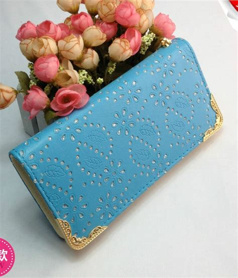 Bag Branded Set Free Wallet Import Bag Fashion Wanita wallet clutch import bg628 light blue tamochi