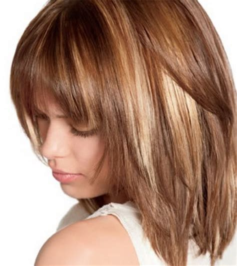 hairstyles and colours for shoulder length hair medium length haircuts and colors