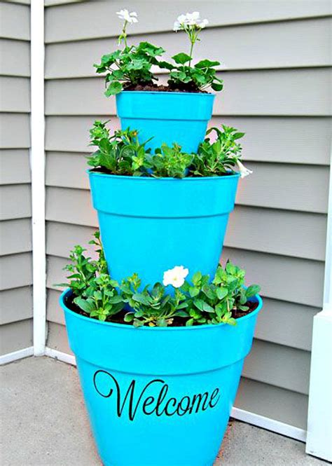 Front Porch Planters by 15 Diy Planters For Your Front Porch