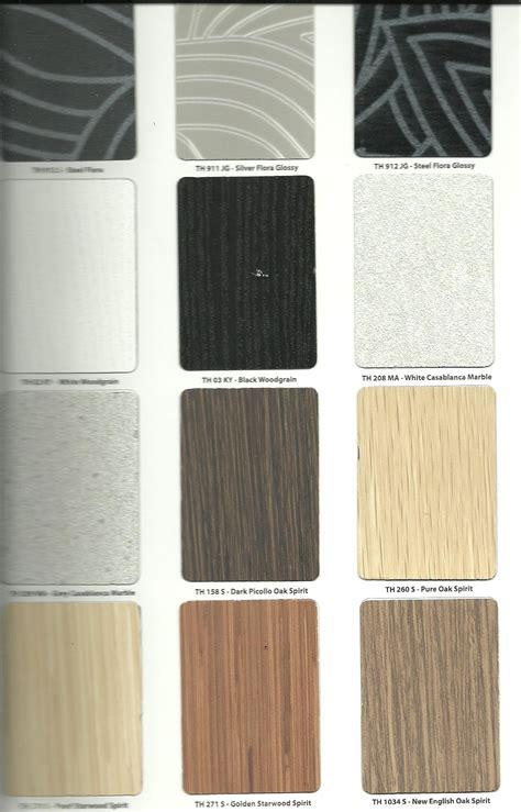 pilihan warna hpl