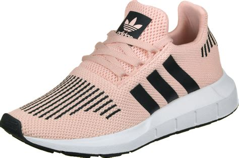 adidas run j w shoes pink