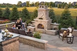 Backyard Designs Ideas by Outdoor Fireplace Design Ideas Getting Cozy With 10