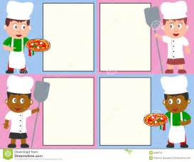 pizza chefs and menu stock photos image 9948713