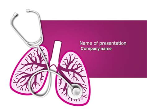 powerpoint themes lungs infection powerpoint templates and backgrounds for your