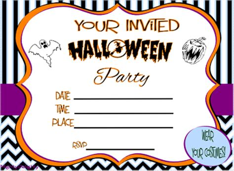 printable halloween invitations free printable halloween invitations kids festival
