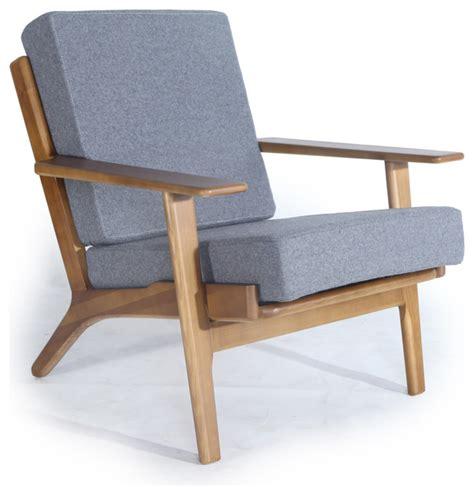 wood armchairs kardiel kardiel midcentury modern plank armchair