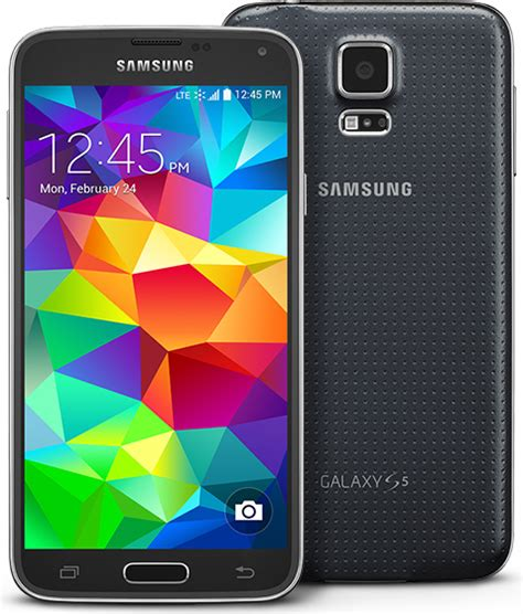 samsung galaxy s5 16gb sm g900 android smartphone unlocked gsm black mint condition used