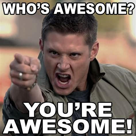 You Are Awesome Meme - quot you re awesome quot canvas prints by mariatorg redbubble