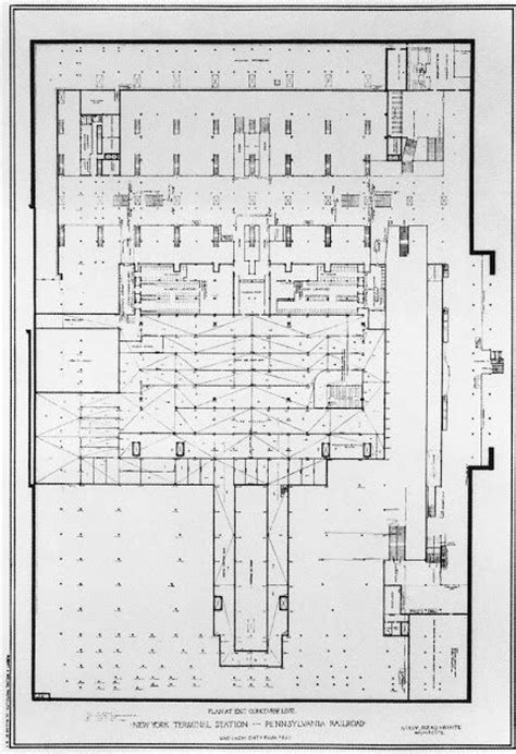 train station floor plan penn station pathfinder historic floorplans 1910