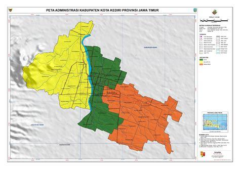 Vitamale Kediri Kota Kediri Jawa Timur administrasi kota kediri peta tematik indonesia