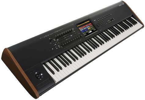 Keyboard Roland Korg korg kronos 8 workstation keyboard 88 key black