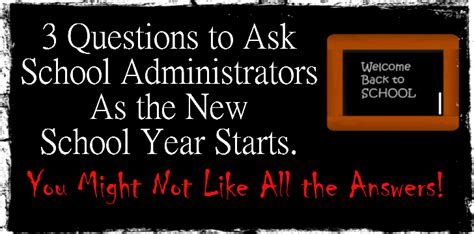 questions to ask about new year 3 questions to ask school administrators as the new school