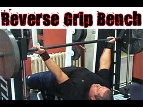 reverse grip bench press reverse grip bench press technique youtube
