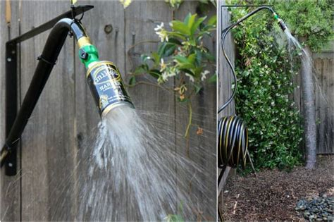 Garden Hose Shower 16 Diy Outdoor Shower Ideas A Of Rainbow
