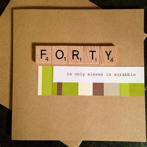 whats scrabble 1000 ideas about 40th birthday cards on