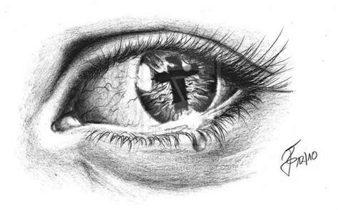 cross tattoo under eye meaning design idea cross in eye tattoo design