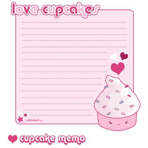 cupcake memo sheet by riaherod on deviantart